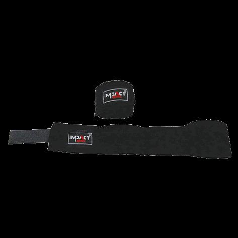 Impact Sport bandage katoen Zwart 5m