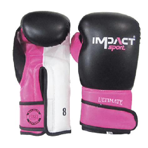 Impact Sport Allround PU Bokshandschoen roze