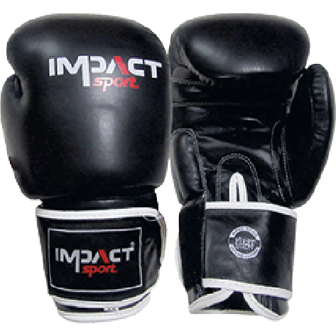 Impact Sport Thai & Kickboks Lederen Bokshandschoen