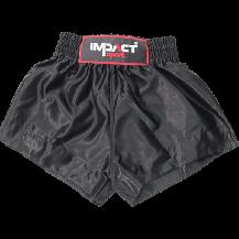 Impact Sport Thaiboks short Zwart