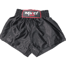 Impact Sport Thaiboks short Zwart junior