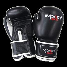 Impact Sport Traditional PU Bokshandschoen Zwart