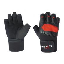 Impact Sport Fitness handschoen met polssteun
